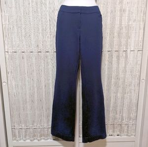 WHBM Stretchy Navy Dress Pants